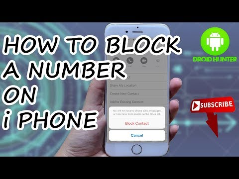 How to Block Number in iPhone 11 - Create Blacklist.
