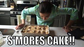 All Hail Smores Cake!