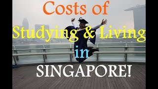 Costs of studying and living in Singapore (NUS) - Vishnu Raj