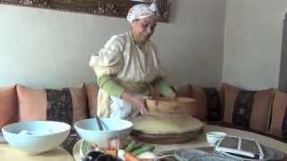 Making Couscous - Marrakech