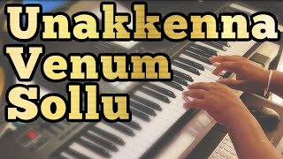 Unakkenna Venum Sollu Piano Version   Yennai Arindhaal   Ajith   Harris Jayaraj   Thala