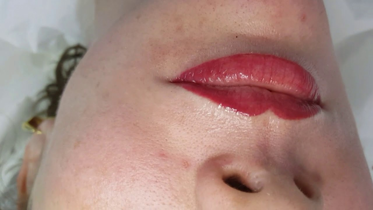 Lip Blush Microshading Permanent Makeup by El Truchan @ Perfect Definition