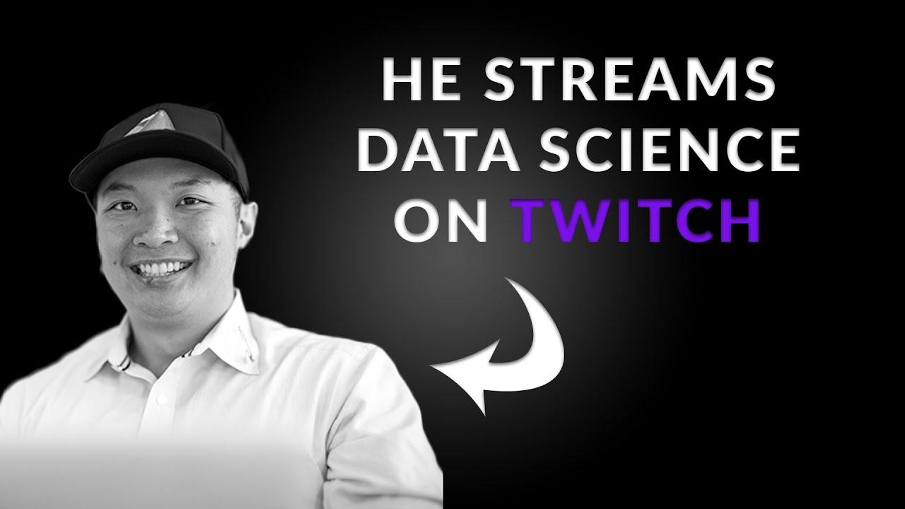 Sports Analytics & Streaming Data Science on Twitch (Nick Wan) - KNN EP. 08