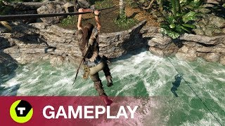 Gameplay Shadow of the Tomb Raider [4K Xbox One X]