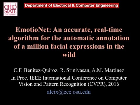 EmotioNet: Automatic recognition of a million facial expressions in the wild