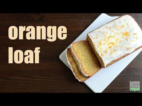 orange loaf Something Vegan