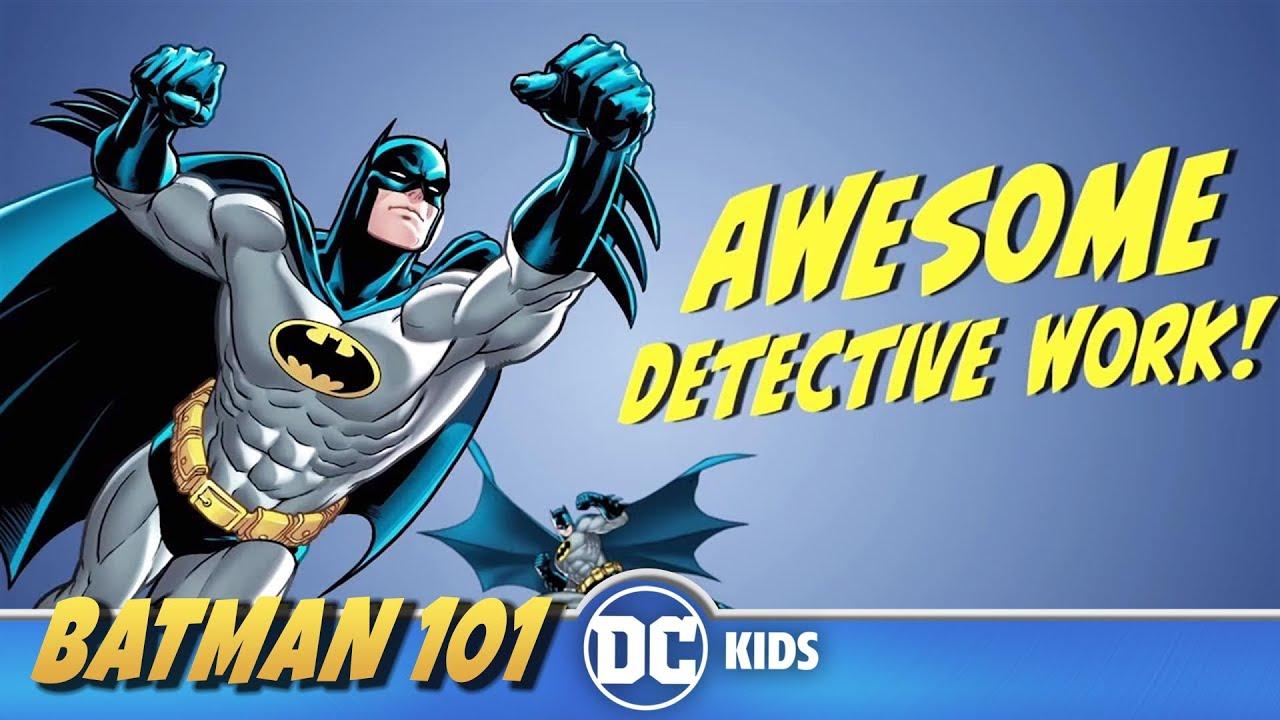 The World's Greatest Detective | Batman 101 | DC Kids