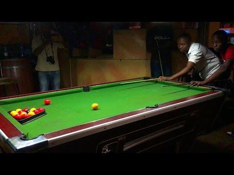 Hazzard (UG) vs  Henry (KE) Full Match 21 Racks - 1080 HD