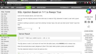 #5. SQL Injection ( Membuat Keamanan Website )
