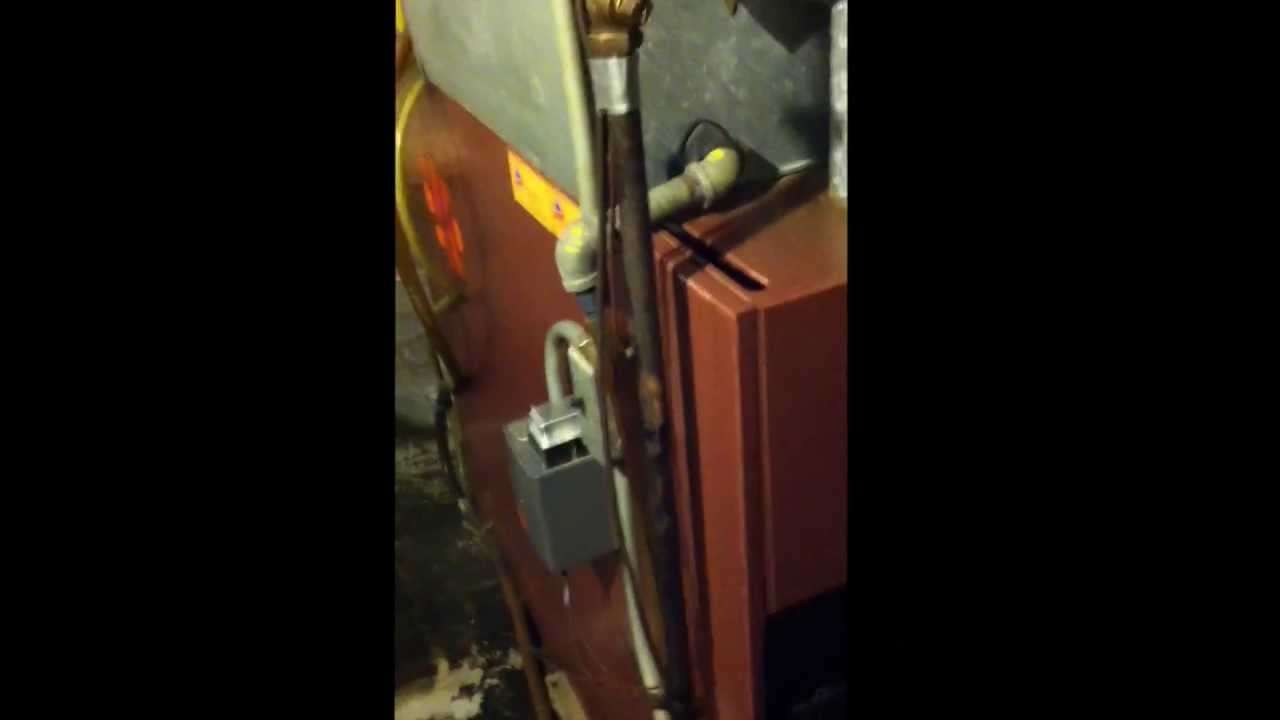 Old 1967 Sears Homart Gas Furnace Still Going Strong