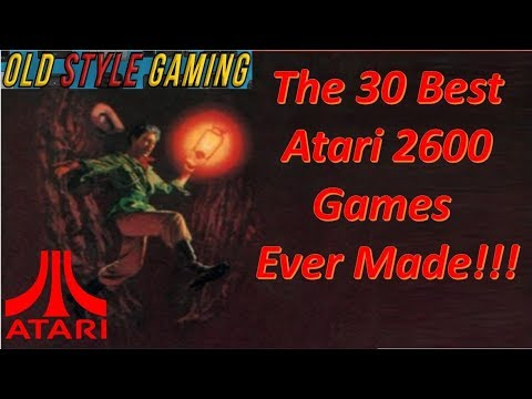The 30 Best Atari 2600 Games Ever Made!!! (Nostalgia Overload)
