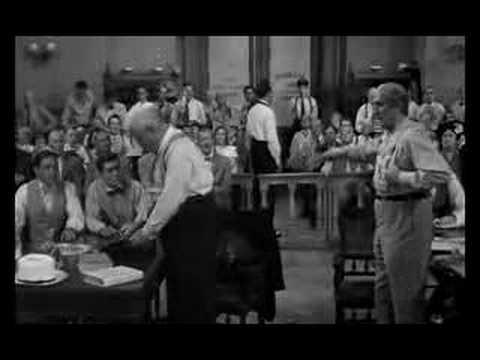 Inherit The Wind - Spencer Tracy Speech