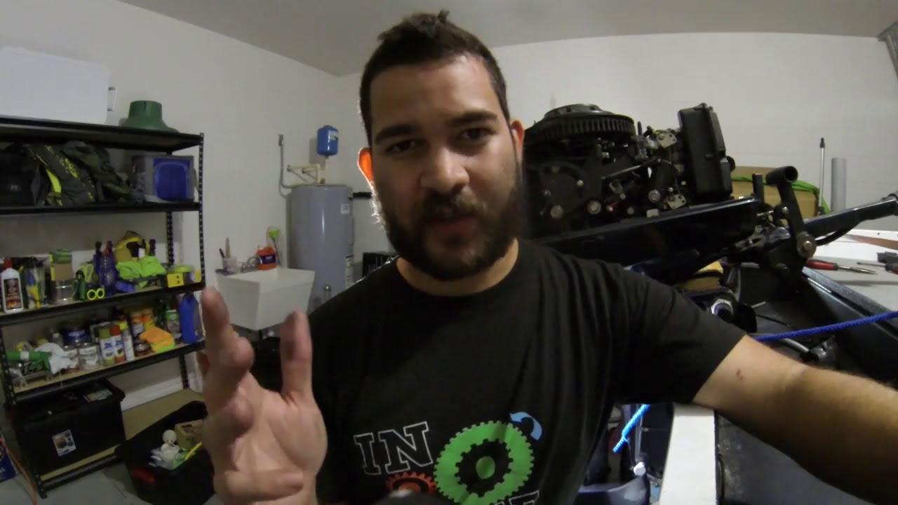 evinrude outboard motor stuck in gear youtube rh youtube com
