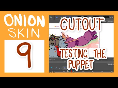 CUTOUT ANIMATION - Testing an animated Puppet