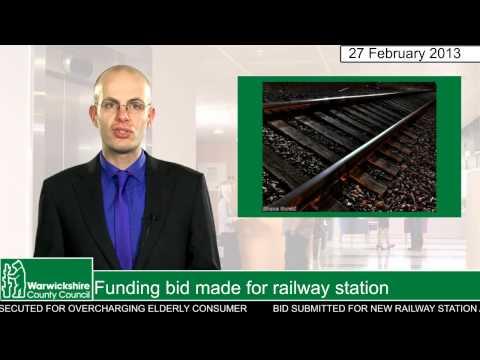 Funding bid made for railway station