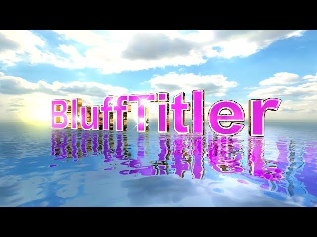 Blufftitler Flex on Water #1