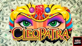 Up to $5/Spin 💥 LIVE PLAY and Bonuses on Cleopatra Slot Machine and Cleopatra II