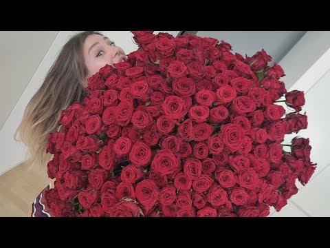 Julian überrascht mich mit dem größten Rosenstrauß der Welt 🌹 | Bibi