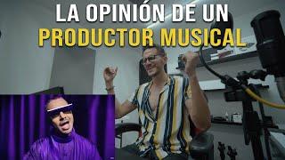 REACCION: J Balvin - Morado (Official Video)   La Opinión de un PRODUCTOR   Analisis y calificacion