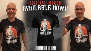 Master Wong special edition T-shirt Wing Chun Master