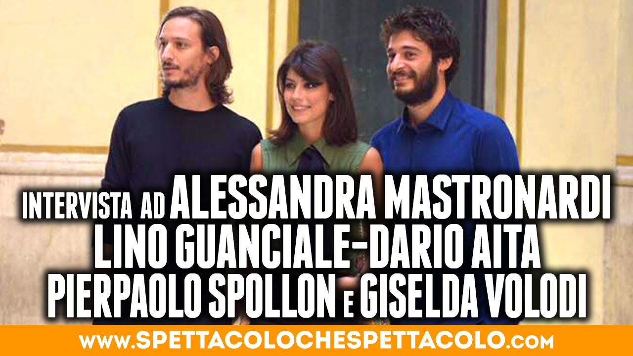 Alessandra Aita l'allieva | alessandra mastronardi, lino guanciale, dario aita, pierpaolo  spollon, giselda volodi