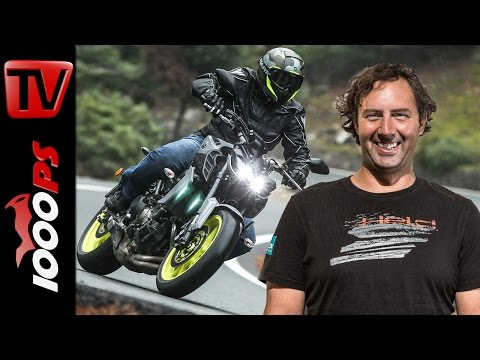 Yamaha MT-09 Test 2017 - Review mit Fazit + ENGLISH SUBS