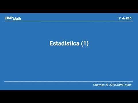 Unidad 7. Estadísticas I