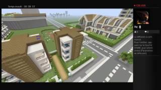 Live minecraft  ville rp de notre serveur avec un pote