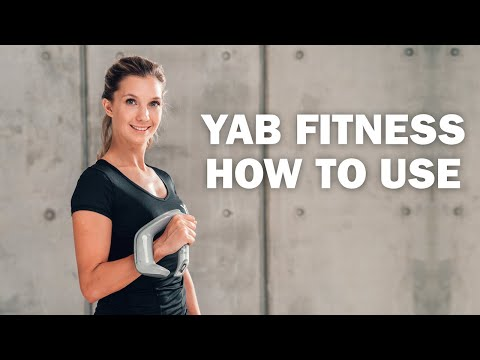 "Video: YAB Fitness Kurzhantel ""3-in-1"""