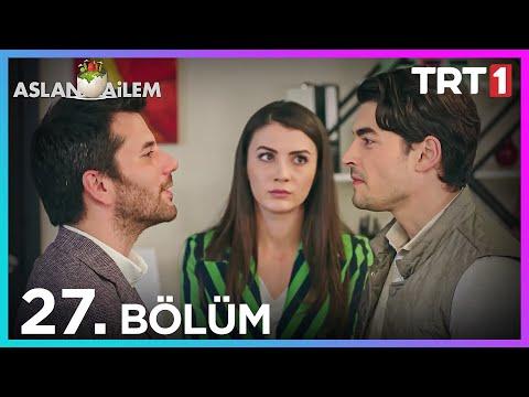 Aslan Ailem 27. Bölüm  (Her Pazar 20:00'de TRT1'de)