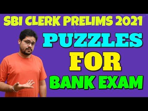 PUZZLES FOR BANKING EXAMS ||SBI PO, IBPS PO,RRB PO,IBPS CLERK || ANKUSH LAMBA