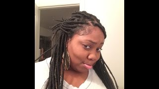 Final Thoughts on Faux Locs | Impromptu hair style lol