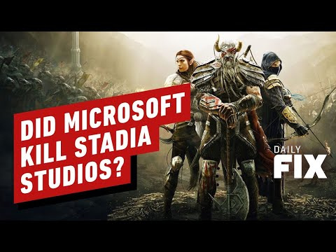 Did Google Kill Stadia Studios Because of Microsoft/Bethesda Deal? - IGN Daily Fix