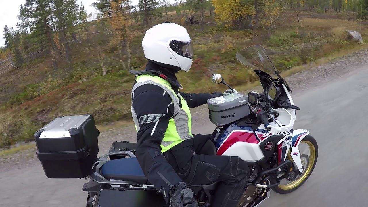 MCCruise motorcycle cruise control on Honda CRF 1000 L