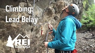 Once you've mastered the art of top roping, it's time to learn how ...