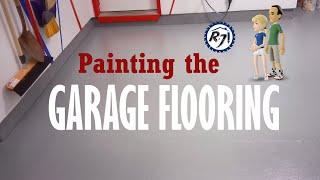 Poor Man's DIY: Painting the Garage Floor