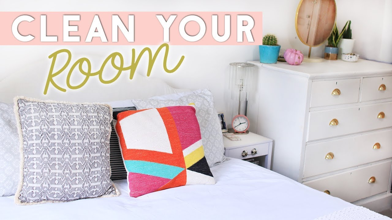 How To Tidy Your Room Fast Clean Your Room In 30 Minutes Youtube