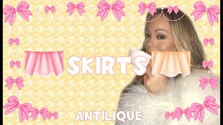 HOW TO DO A ROBLOX SKIRT (in barely 15 minutes) - Antilique