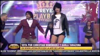 Christian y Karla imitaron al dúo 'Pimpinela' en LRDP thumbnail