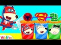 Wolfoo Makes Colorful Superheroes Juice  - Funny Stories for Kids | Wolfoo Channel Kids Cartoon