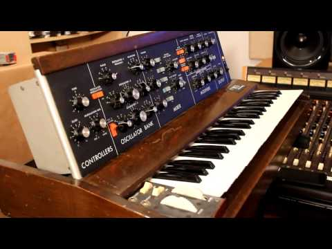 Minimoog Sound Charts by Tom Rhea