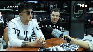 Анатолий Цой в программе HEADLINER  на канале Hit TV CHANNEL