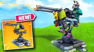 fortnite new turret gun