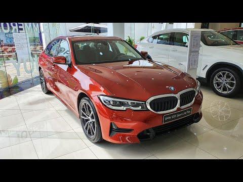 BMW 320i Sport Line Plus Sunset Orange / Đen. Màu sắc vô cùng ấn tượng và nổi bật
