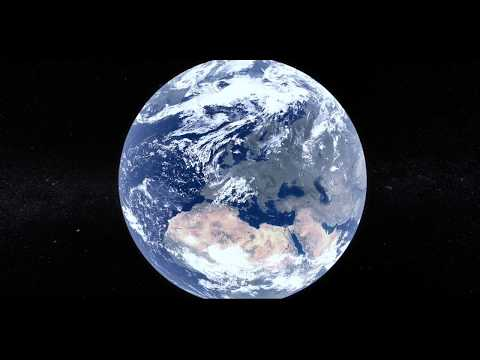 Space travel - School Project (After Effect 3D environment, Earth, Moon and Sun)