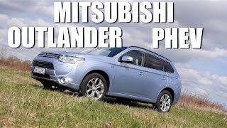 (ENG) Mitsubishi Outlander PHEV - Test Drive and Review