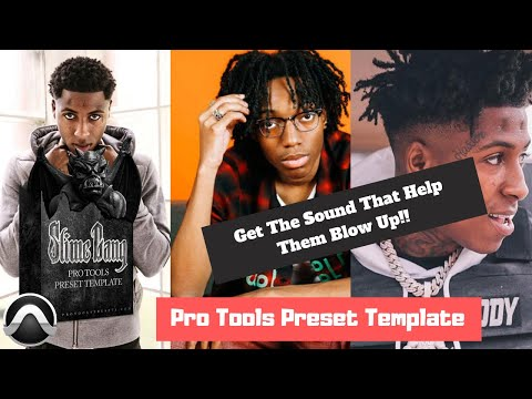 "Pro Tools Preset Template ""Slime Gang"" 