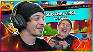 😎 DUO CHALLANGE in Brawl Stars 💕 NikaTMG -სთან ერთად.