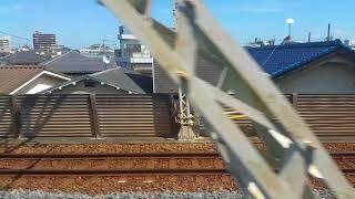 東武20050系にて東武スカイツリーラインの複々線区間を行く