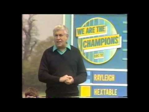 We Are The Champions 1985 Hextable school